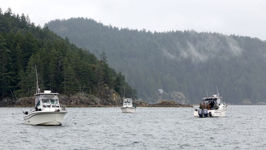 Our Guided Fishing Boats in Vancouver
